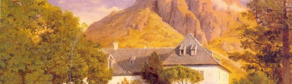 Hans Gude: Baroniet i Rosendal